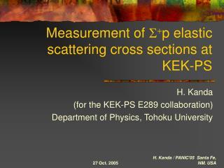 Measurement of  S + p elastic scattering cross sections at KEK-PS