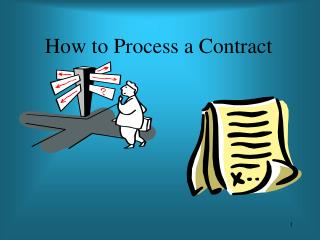 How to Process a Contract