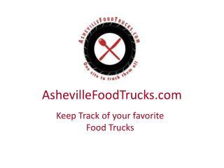 AshevilleFoodTrucks.com-Track your favorite Food Trucks