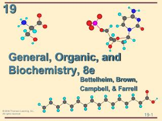 General, Organic, and Biochemistry, 8e