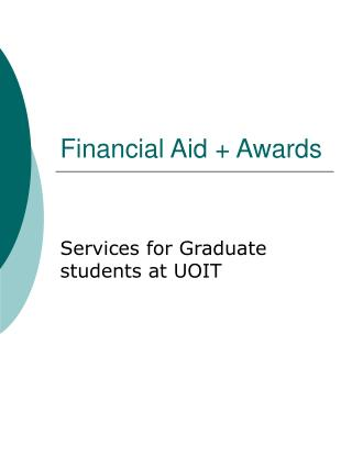 Financial Aid + Awards