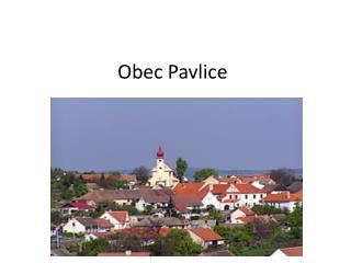 Obec  Pavlice