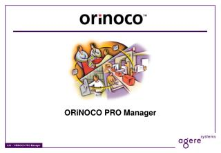 ORiNOCO PRO Manager