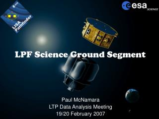 LPF Science Ground Segment