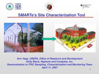 SMARTe's Site Characterization Tool