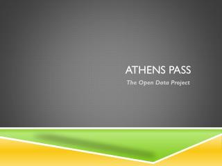 ATHENS PASS