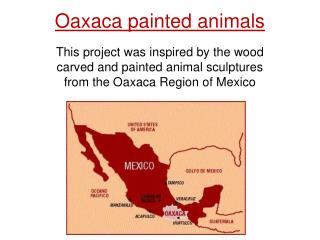 Oaxaca painted animals