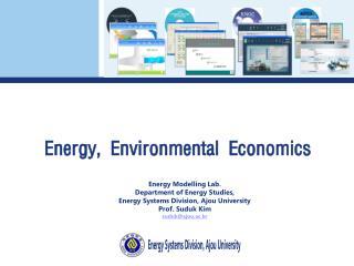 Energy, Environmental Economics