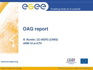 OAG report