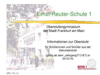 Ernst-Reuter-Schule 1