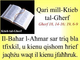 Il-Baħar l-Aħmar sar triq bla tfixkil, u kienu qishom ħrief  jaqbżu waqt il kienu jfaħħruk .