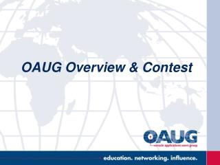 OAUG Overview & Contest