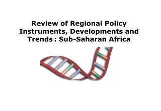 Review of Regional Policy Instruments, Developments and Trends : Sub-Saharan Africa