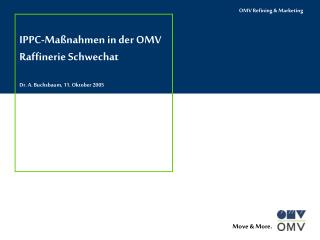 IPPC - Maßnahmen in der OMV Raffinerie Schwechat