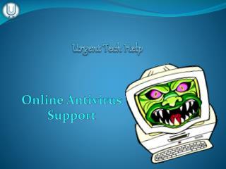 Urgent Tech Help - Online Antivirus Support