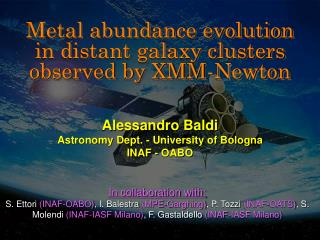 Metal abundance evolution in distant galaxy clusters observed by XMM-Newton