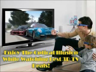 24 Inch 3D TV Deals- Newly Trendy Deal