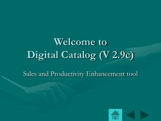 Sales and Productivity Enhancement tool