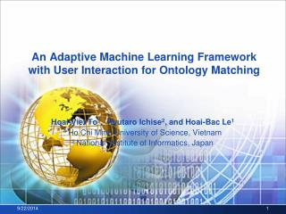 An Adaptive Machine Learning Framework with User Interaction for Ontology Matching