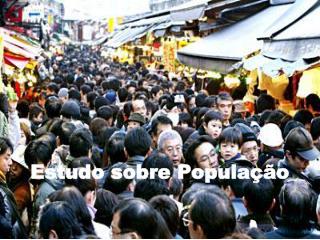 Estudo sobre População