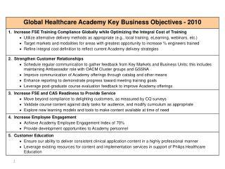 2010 Key Business Objectives v2