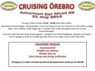 American  Car  Meet  #8 31 maj 2014