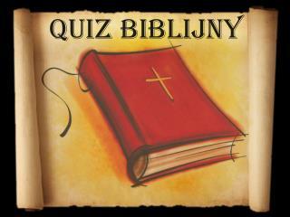 Quiz biblijny