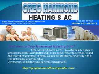Air Conditioning, Heating and AC Repairs - Freeland MI