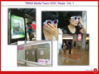 TBWA Media Team OOH  Radar  Vol. 1