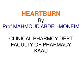 Role of Pharmacist