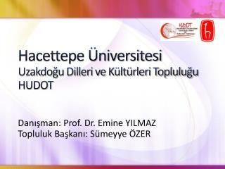 Hacettepe Üniversitesi Uzakdoğu Dilleri ve Kültürleri Topluluğu HUDOT