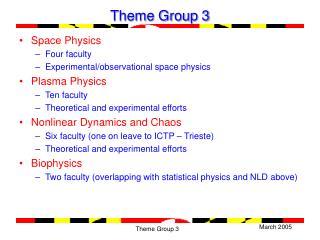 Theme Group 3