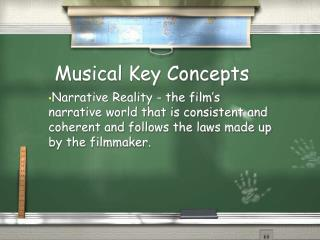 Musical Key Concepts