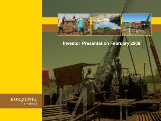 Investor Presentation February 2008