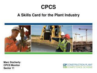 CPCS A  Skills Card for the Plant Industry
