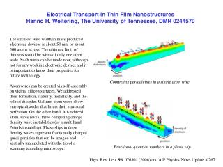 Competing periodicities in a single atom wire