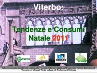 Viterbo:  Tendenze e Consumi  Natale 2011