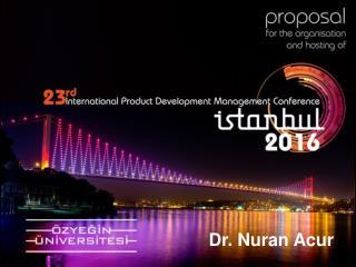Dr.  Nuran Acur