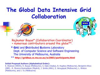 The Global Data Intensive Grid Collaboration