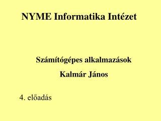 NYME Informatika Intézet