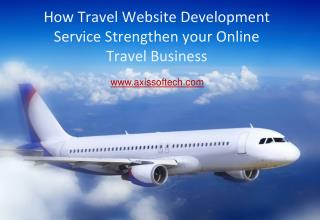 How Travel Website Development Service