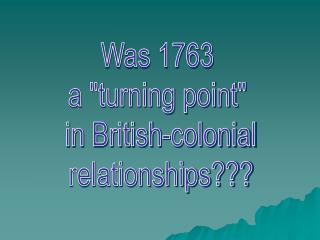 Was 1763  a