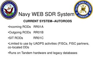 Navy WEB SDR System