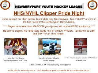 NHS/NYHL Clipper Pride Night