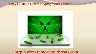 Remove Cryptographic Locker: Easy Uninstall Steps