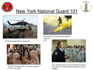 New York National Guard 101