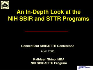 Kathleen Shino, MBA NIH SBIR/STTR Program