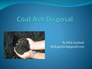 Coal Ash Disposal