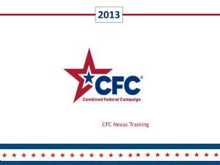CFC Nexus Training