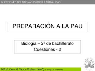 PREPARACIÓN A LA PAU